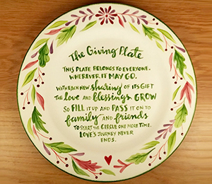 Redlands The Giving Plate